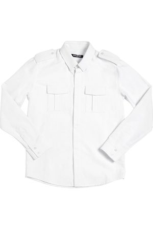 Balmain OXFORD COTTON SHIRT