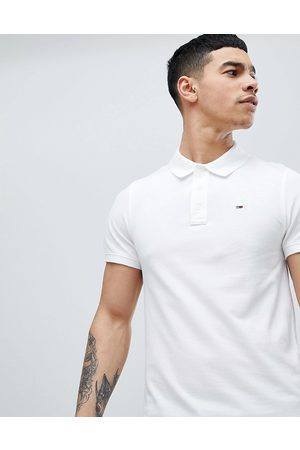 Tommy Hilfiger Pique polo shirt in white