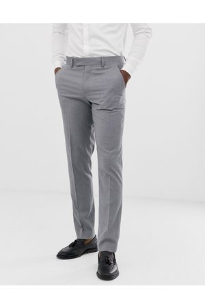 ASOS Slim suit trousers in mid grey