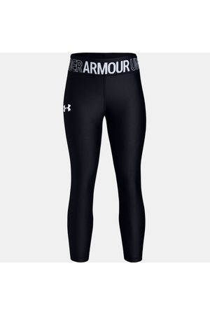 Under Armour Kız Çocuk HeatGear® Armour Bilek Üstü Black YMD
