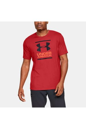 Under Armour Erkek UA GL Foundation Kısa Kollu Tişört Red XS