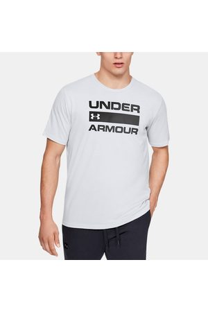 Under Armour Erkek Kısa Kollular - Erkek UA Team Issue Wordmark Kısa Kollu Gray 3XL