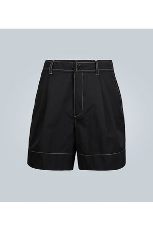 WALES BONNER Double-pleated shorts