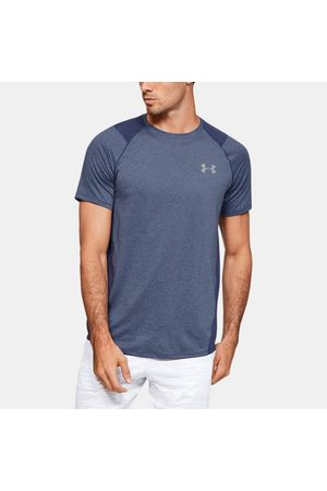 Under Armour Erkek UA MK-1 Kısa Kollu Blue 3XL