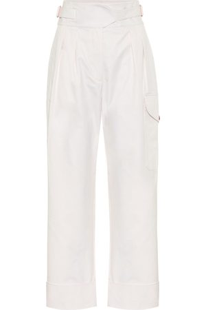 See by Chloé High-rise cotton cargo pants