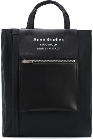 Acne Studios Baker leather-trimmed tote