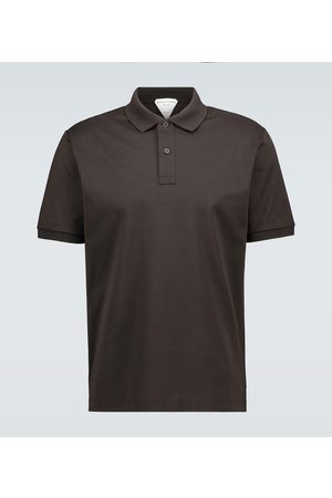Bottega Veneta Cotton short-sleeved polo shirt