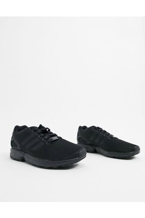 adidas ZX Flux trainers in black