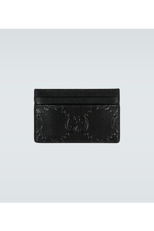 Gucci GG embossed leather cardholder
