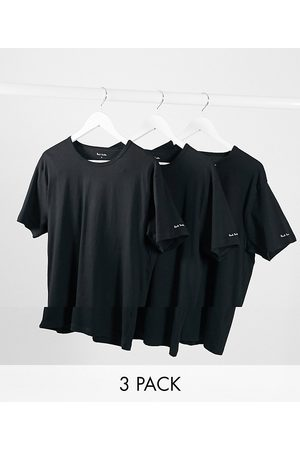 Paul Smith 3 pack loungewear t-shirts in black