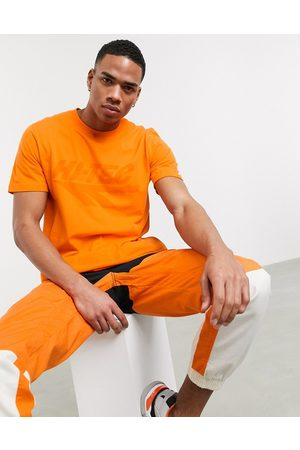 Hi-Tec Chest print t-shirt in orange