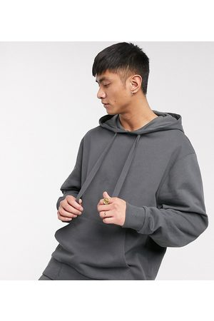 COLLUSION Oversized hoodie in charcoal-Grey