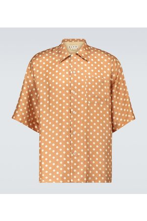 Marni X Smiley® printed short-sleeved shirt