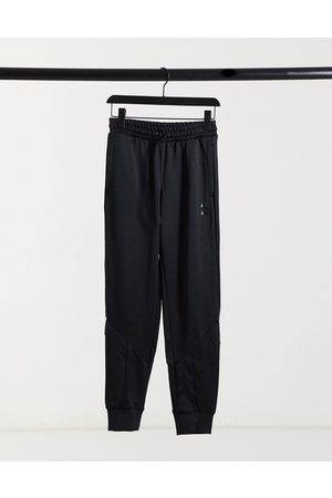 PUMA Iconic joggers in triple black