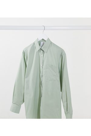COLLUSION Oversized shirt in pistachio-Green