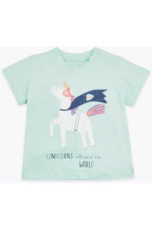 Marks & Spencer Unicorn Desenli T-Shirt
