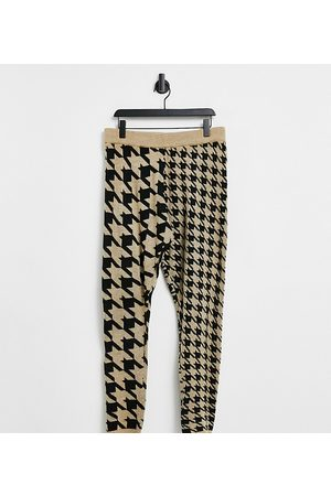 COLLUSION Houndstooth joggers co-ord-Multi