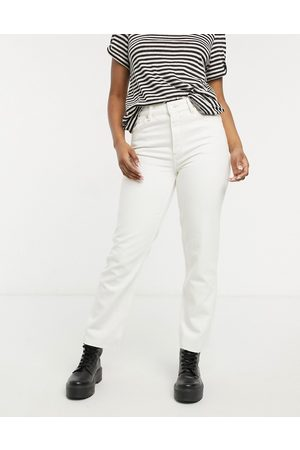 AllSaints Straight leg jeans in white