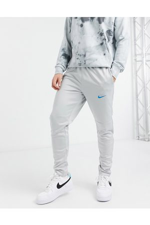 Nike Nike Air knit joggers with embroidered swoosh in grey