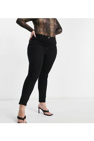 Yours Straight leg jeans in black