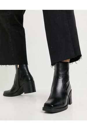 Raid Zerrin heeled ankle boots in black