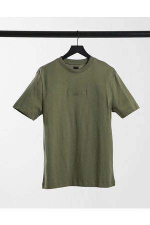 River Island Prolific oversized t-shirt in green-Grey