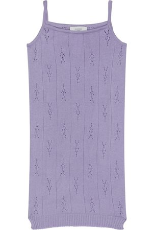PAADE Pointelle cotton knit dress