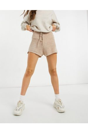 Cotton On Knitted shorts in beige