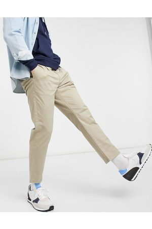 Only & Sons Chino in slim fit cropped stone