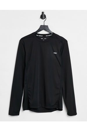 ASOS Icon training long sleeve t-shirt with quick dry in black