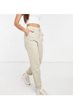 ASOS ASOS DESIGN Tall chino trousers in stone-Neutral