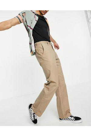 Vans Authentic chino pro trousers in military khaki-Green