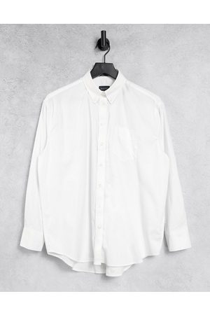 GANT Relaxed oxford shirt in white