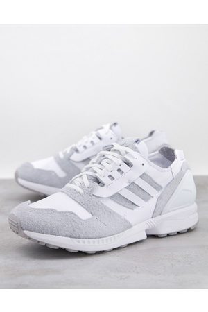 adidas ZX 8000 trainers in white