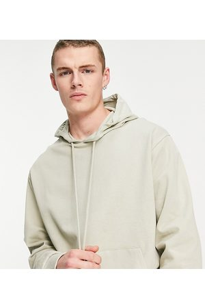 COLLUSION Hoodie in stone-Neutral