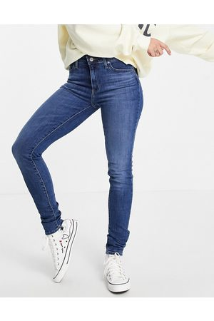 Levi's Levi's 721 high rise skinny jeans in mid blue