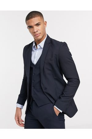 New Look Skinny suit jacket in navy