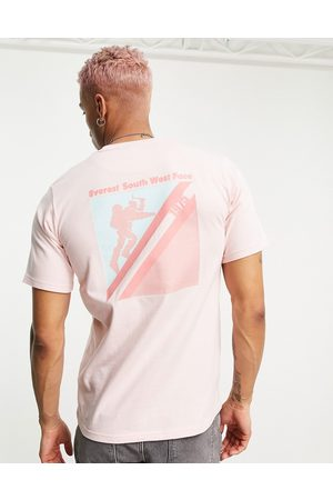Berghaus Everest Face Expedition t-shirt with print in pink