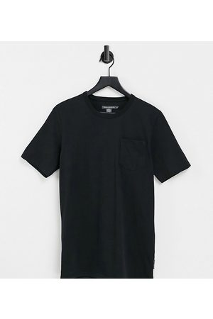 French Connection Tall organic cotton t-shirt-Black