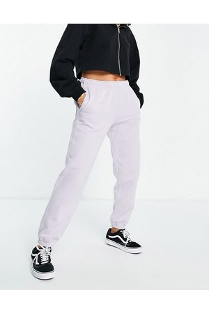Quiksilver The Fleece joggers in lilac-Black