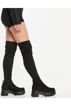 Ego Roleplay over the knee boots in black