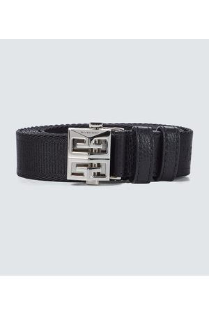 Givenchy 4G buckle canvas belt