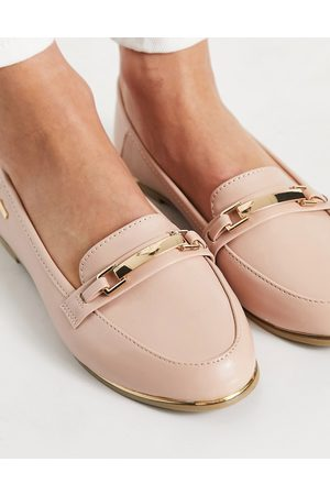 Accessorize Snaffle loafer in pale pink patent