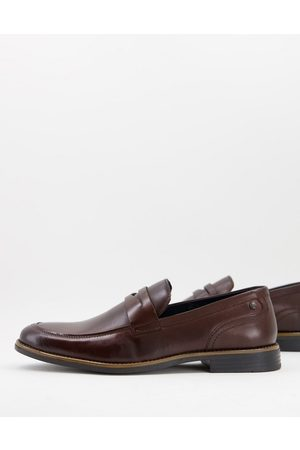 Base London Varone smart loafers in brown leather