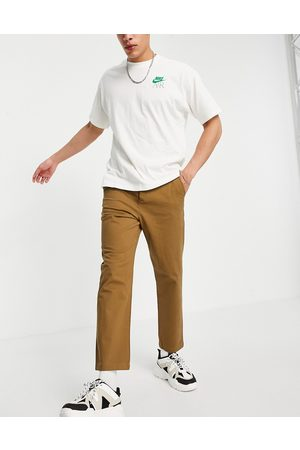 ASOS Relaxed skater chinos in brown