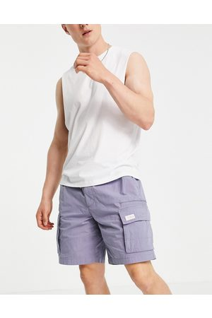River Island Pull on shorts in lilac-Purple