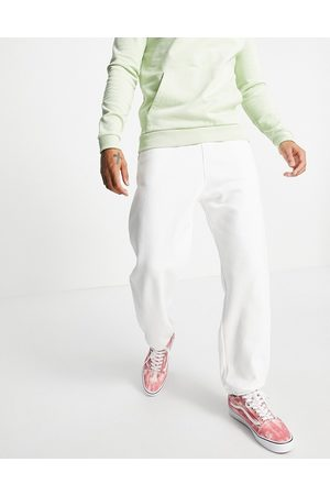 Weekday Standard co-ord Joggers in White
