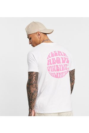Kavu Unlimited back print t-shirt in white Exclusive at ASOS
