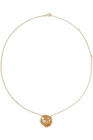 Alighieri Kadın Kolyeler - The Craters We Know 24kt gold-plated necklace