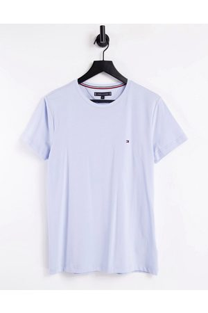 Tommy Hilfiger Small icon slim fit t-shirt in light blue